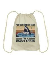 Im A Daddy Shark Drawstring Bag thumbnail