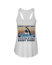 Im A Daddy Shark Ladies Flowy Tank thumbnail