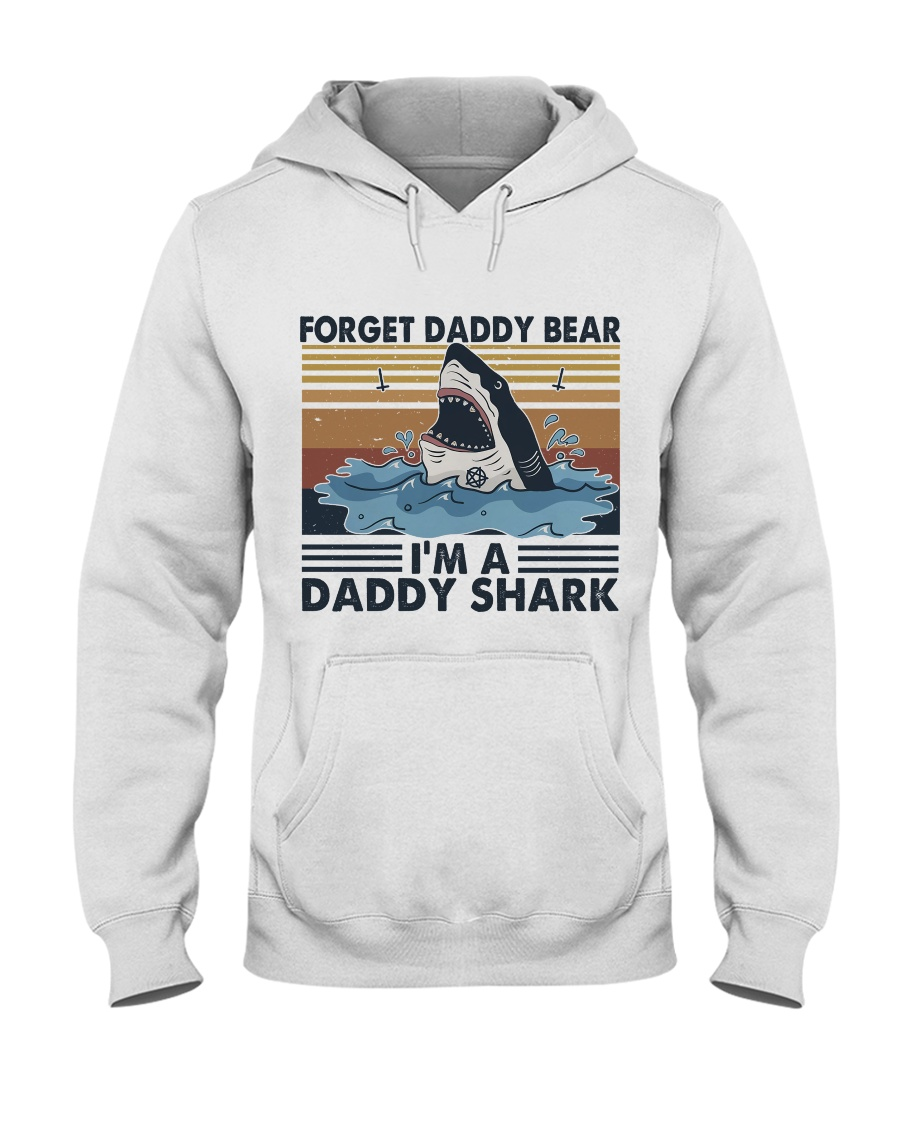 Im A Daddy Shark Hooded Sweatshirt