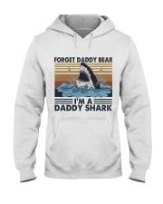 Im A Daddy Shark Hooded Sweatshirt front