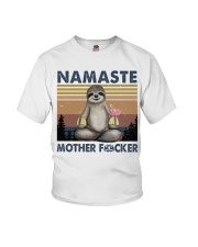 Namaste Funny Yoga Shirt Youth T-Shirt thumbnail