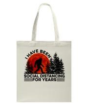 I Have Been Social Tote Bag thumbnail