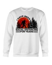 I Have Been Social Crewneck Sweatshirt thumbnail