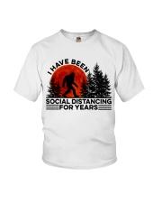 I Have Been Social Youth T-Shirt thumbnail