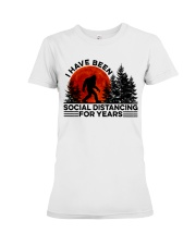 I Have Been Social Premium Fit Ladies Tee thumbnail