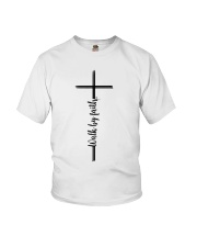 Walk By Faith Youth T-Shirt thumbnail