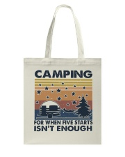Camping For When Tote Bag thumbnail