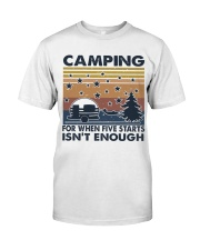 Camping For When Classic T-Shirt thumbnail