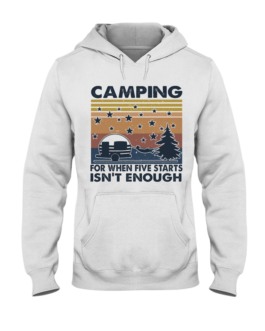 Camping For When Hooded Sweatshirt