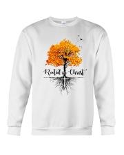 Rooted In Christ Crewneck Sweatshirt thumbnail