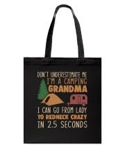 Im A Camping Grandma Tote Bag thumbnail
