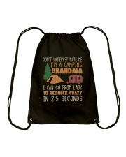 Im A Camping Grandma Drawstring Bag thumbnail