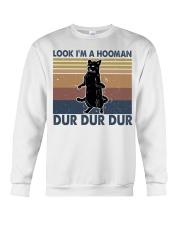 Look Im A Hooman Crewneck Sweatshirt thumbnail