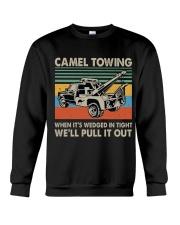 Camel Towing Funny Crewneck Sweatshirt thumbnail