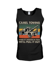 Camel Towing Funny Unisex Tank thumbnail