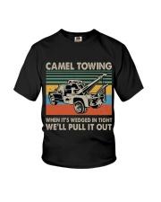 Camel Towing Funny Youth T-Shirt thumbnail