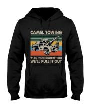 Camel Towing Funny Hooded Sweatshirt thumbnail