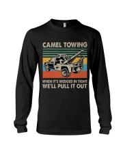 Camel Towing Funny Long Sleeve Tee thumbnail
