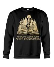 My Idea Of An Outdoor Crewneck Sweatshirt thumbnail