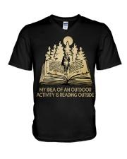 My Idea Of An Outdoor V-Neck T-Shirt thumbnail