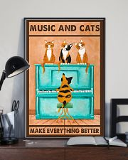 Music And Cats 11x17 Poster lifestyle-poster-2