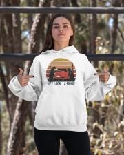 Hey Look A Menu Funny Hooded Sweatshirt apparel-hooded-sweatshirt-lifestyle-05
