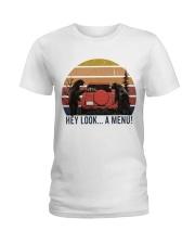 Hey Look A Menu Funny Ladies T-Shirt thumbnail