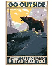 Go Outside Worst Case 11x17 Poster front