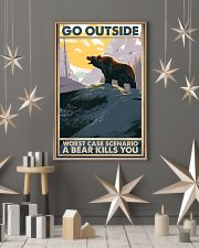 Go Outside Worst Case 11x17 Poster lifestyle-holiday-poster-1