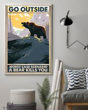 Go Outside Worst Case 11x17 Poster lifestyle-poster-1