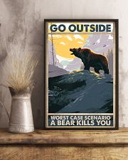 Go Outside Worst Case 11x17 Poster lifestyle-poster-3