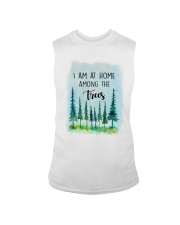 I Am At Home Among The Trees Sleeveless Tee tile