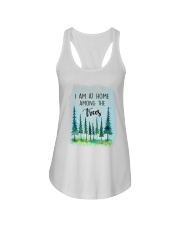 I Am At Home Among The Trees Ladies Flowy Tank thumbnail