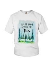 I Am At Home Among The Trees Youth T-Shirt tile