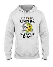 Where You Can Be Anything Hooded Sweatshirt front