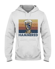 Hammered Hooded Sweatshirt front