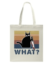 What Funny Cat Tote Bag thumbnail