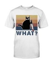 What Funny Cat Classic T-Shirt thumbnail