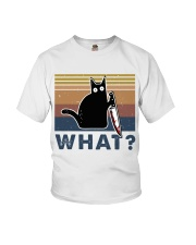 What Funny Cat Youth T-Shirt thumbnail