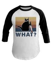 What Funny Cat Baseball Tee thumbnail