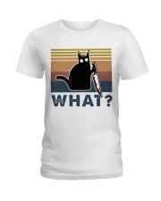 What Funny Cat Ladies T-Shirt thumbnail