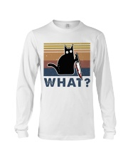 What Funny Cat Long Sleeve Tee thumbnail