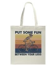 Put Some Fun Between Funny Tote Bag thumbnail