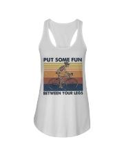 Put Some Fun Between Funny Ladies Flowy Tank thumbnail