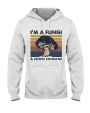 Im A Fungi Hooded Sweatshirt front