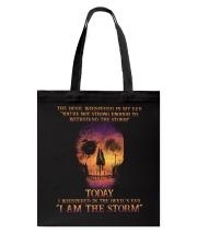 I Am The Storm Tote Bag thumbnail