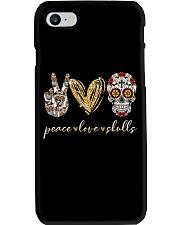 Peace Love Skulls Phone Case thumbnail