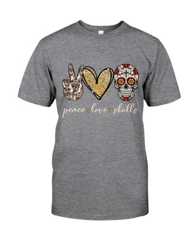 Peace Love Skulls