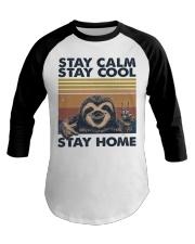 Stay Calm Stay Cool Baseball Tee thumbnail