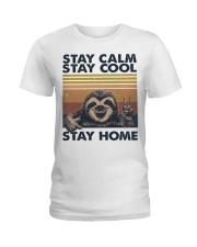 Stay Calm Stay Cool Ladies T-Shirt thumbnail